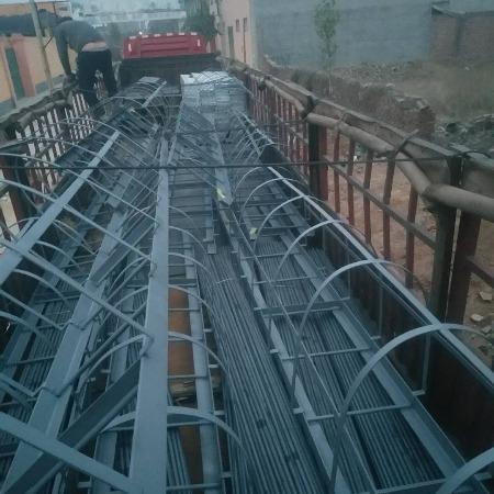 高铁桥梁 栏杆扶手 桥梁支架 预埋T型钢