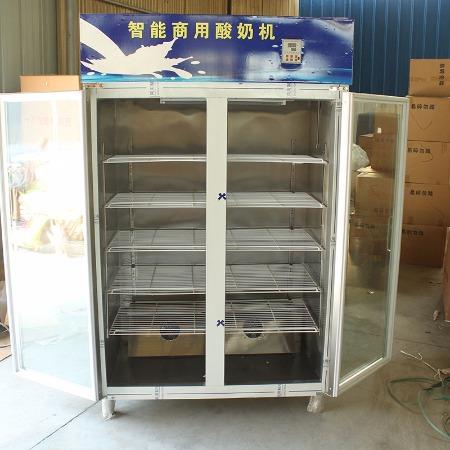 鲜奶吧酸奶吧专用商用酸奶机设备 双门5层不锈钢酸奶机批发 酸奶机厂家