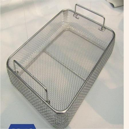 不锈钢医用器械网筐 销售 消毒框清洗篮 不锈钢酸洗篮 指导安装