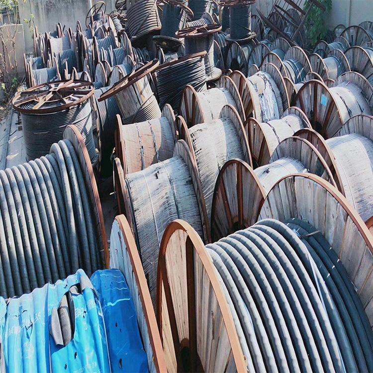 回收各种型号电缆带皮废旧电线回收2*2.5回收废电缆回收