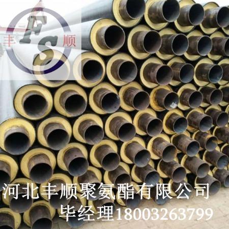 聚氨酯直埋保温管规格 预制聚氨酯直埋保温管价格