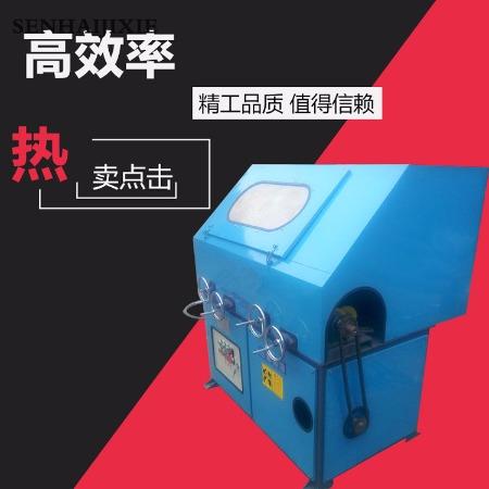 直销无心外圆抛光机 自动圆管铝管镜面拉丝抛光机 钢管除锈机