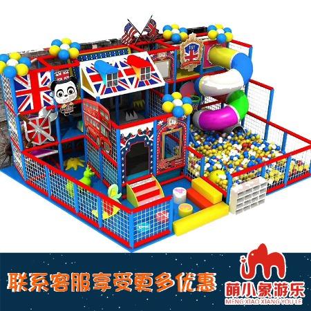 重庆淘气堡 英伦主题淘气堡 儿童游乐园设备 室内商场大型闯关母婴玩具加盟 就选重庆萌小象