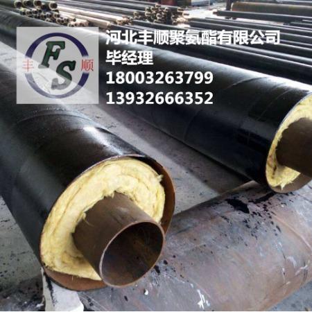 高密度直埋聚乙烯保温管 聚氨酯直埋保温管规格