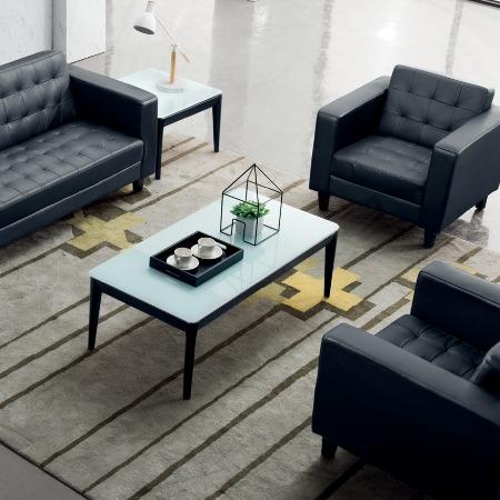 柜都家具休闲现代简约办公沙发 休息区异形创意沙发