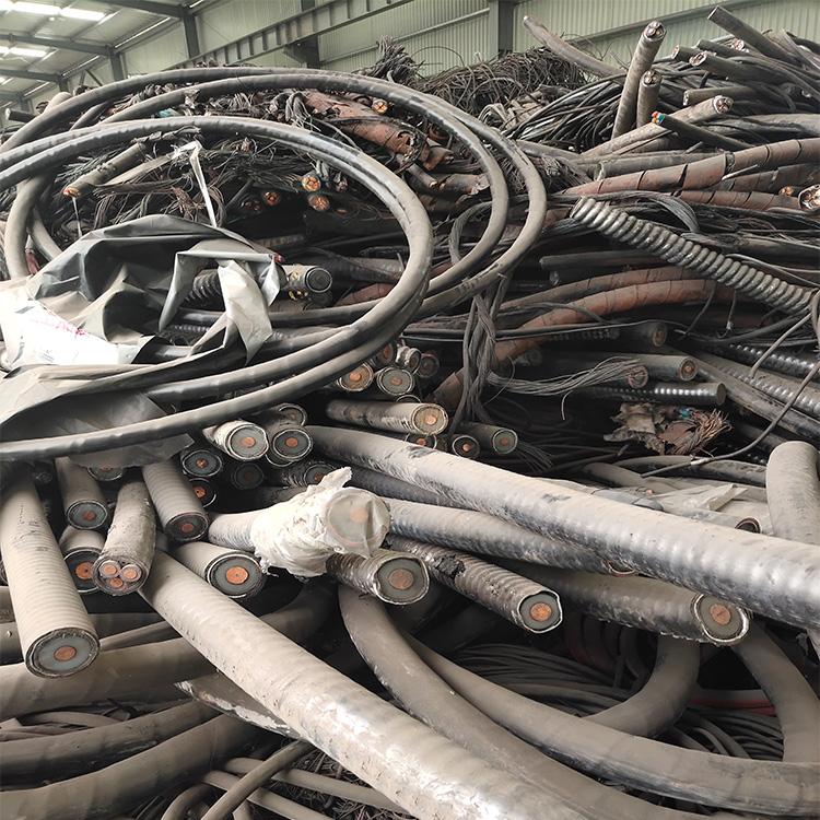 带皮电缆回收,MY-0.38/0.66废电缆回收-市场指导-每吨每米