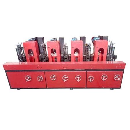 昌和机械 自动方管除锈抛光机 多工位方管打磨抛光机 槽钢 方矩管拉丝机