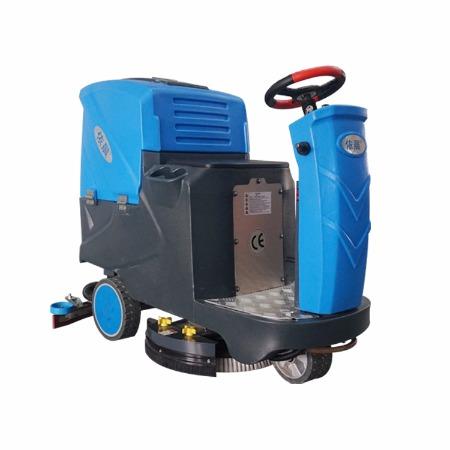 依晨大型洗地车 大型驾驶式洗地车 电动洗地车吸干机依晨YZ-JS2000多功能擦地吸水一体机
