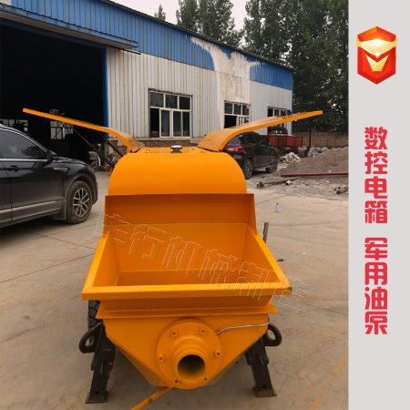 混凝土输送泵 二次构造柱泵 高压细石砂浆输送泵上料机