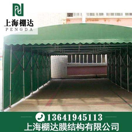 供应轨道式电动推拉篷 上海Pengda/棚达 江苏过道电动推拉篷质量结实