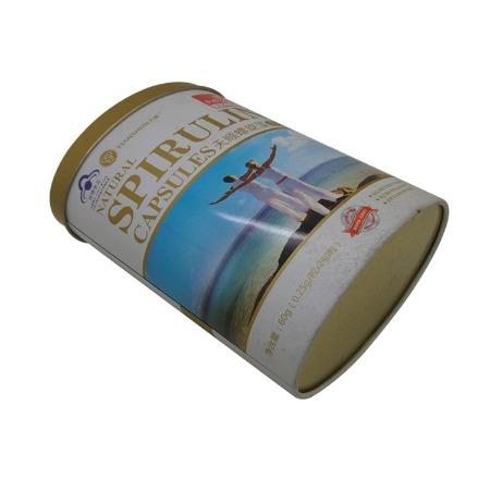 广东食品包装罐生产厂马口铁螺旋藻铁罐食品铁罐