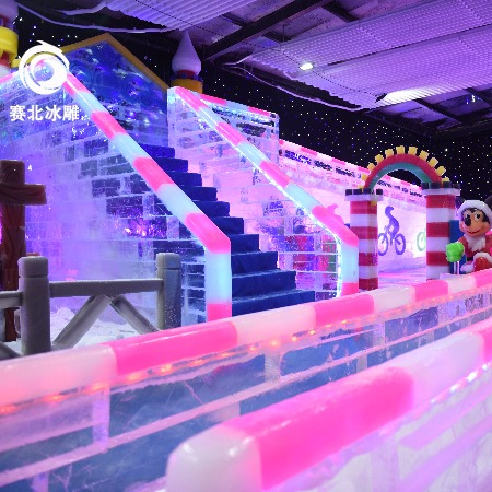 房地产做冰雕活动 创意设计活动方案 现场搭建展馆 赛北冰雕