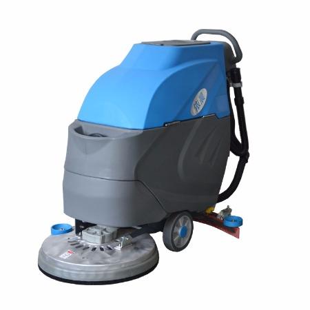 依晨小型全自动手推式洗地机工业用多功能电动擦地机洗地吸干机YZ-530吸水机