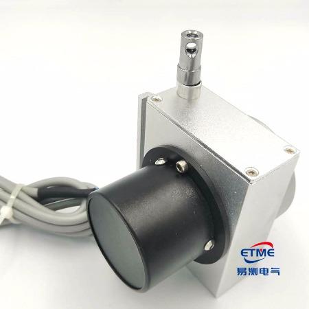 易测ETME拉绳拉线位移传感器EPS-M号编码器NPN输出系列中量程拉绳拉线位移传感器