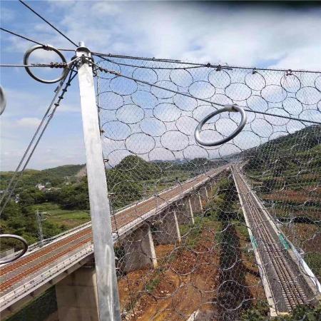 厂家直销sns柔性防护网 主动边坡防护网被动防护网钛克网