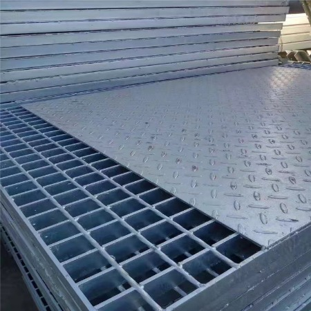 现货供应 电厂平台钢格板 复合型钢格栅 压焊插接格栅板 双美