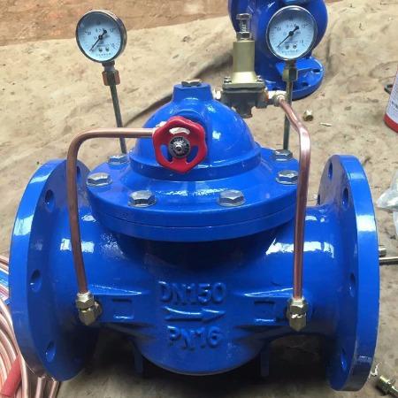 庆泰减压阀200X-16球墨铸铁 先导减压阀  可调式减压稳压水利流量控制阀