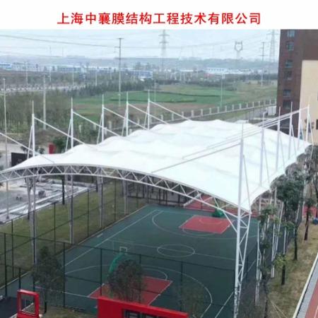 供应公园张拉膜结构景观棚 景区张拉膜遮阳棚 膜结构景观棚