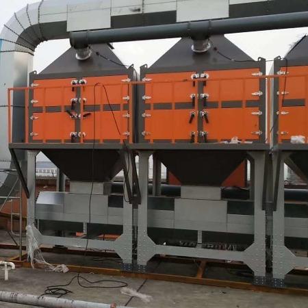龙光环保供应吸附催化燃烧厂家 vocs催化燃烧设备