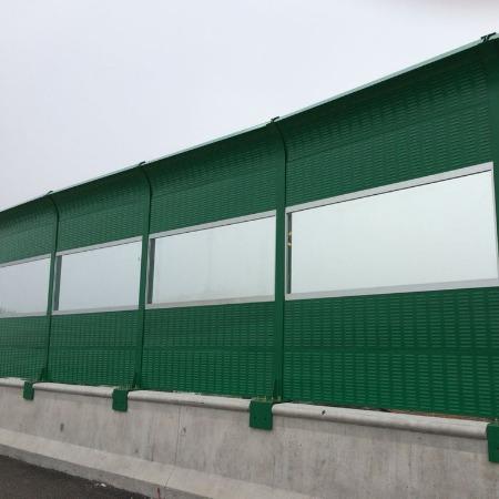 快速车道桥梁声屏障专业生产厂家 江西高速隔音墙隔音屏设计安装