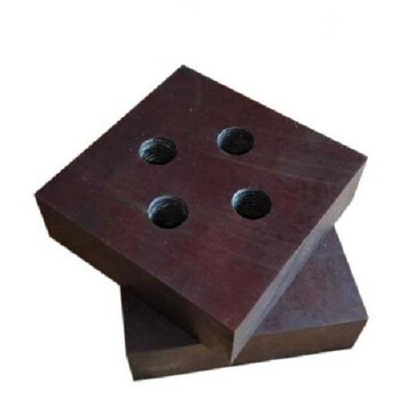 宏尔机械正品货源gq40钢筋切断机刀片 单孔圆钢三角刀定制