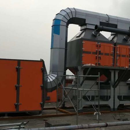 河北专业厂家 吸附催化燃烧炉  催化燃烧厂家供应vocs设备