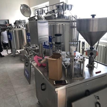 酸奶全套加工设备酸奶生产流水线
