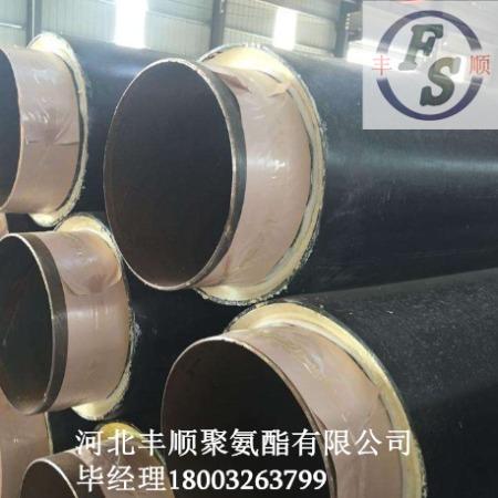 青岛聚氨酯直埋保温管厂家 -聚氨酯发泡直埋式预制保温管规格定做
