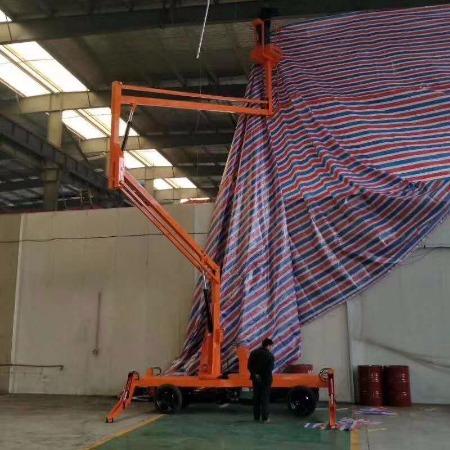 曲臂式升降机-柴油机曲臂式升降机8-18米型号济南新派厂家价格