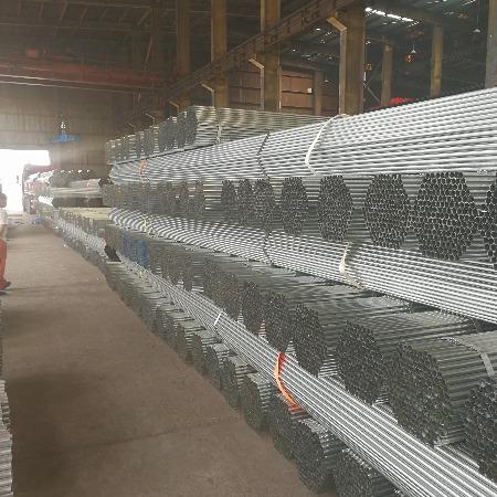 天津椭圆管生产厂家温室镀锌大棚镀锌管加工厂连栋大棚管生产厂家