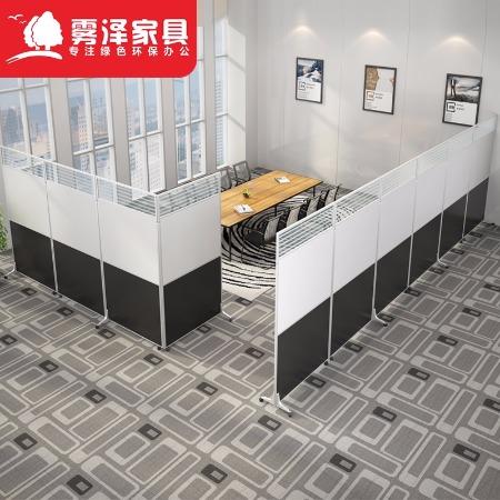 北京深圳办公家具 屏风 折叠 移动 可带轮推拉 工厂车间定制 办公活动隔板 办公室高隔断墙