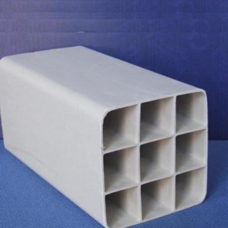 北京轩驰大量生产PVC107九孔格栅管 厂家现货秒发