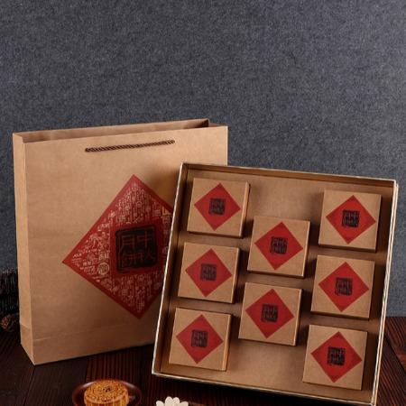月饼盒子包装设计制作生产厂家哪家好 酒店月饼盒批发价格