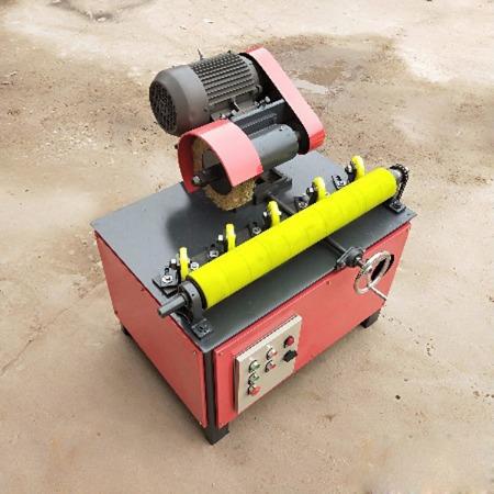 无级变速圆管抛光机 小型圆管除锈抛光机