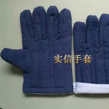 蓝棉手套,劳动布棉手套,牛仔布棉手套,油田棉手套