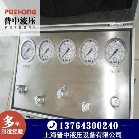 上海Puzhong/普中厂家直销 高品质测压表 挖掘机测量表 便携式测压表