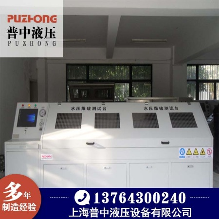 厂家直销苏州水压测试台-总成液压试验台-水压试验台品质优上海Puzhong/普中