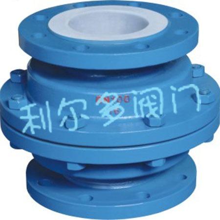 质量保证 衬氟止回阀立式止回阀H42F46 H42F4衬氟立式止回阀价格从优质量保证