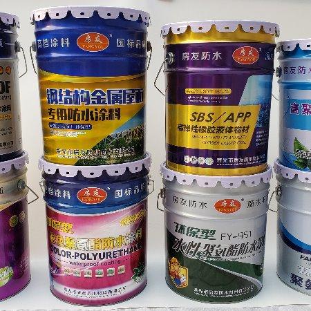 房友钢结构防水涂料彩钢专用防水涂料彩色可定制