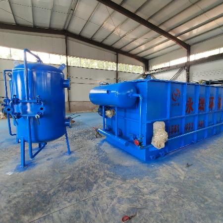 气浮机食品污水处理设备 养殖污水处理设备