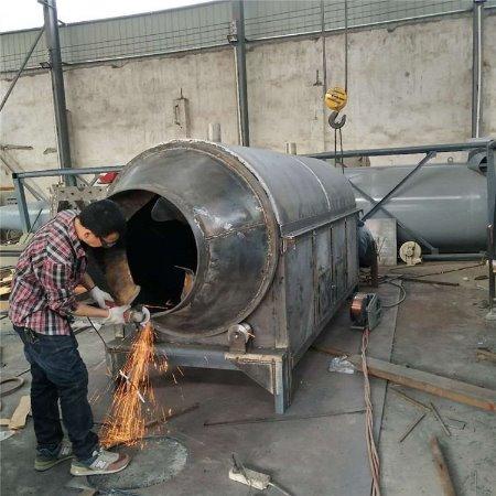 小型烘干机 鸡场养殖鸡粪脱水烘干设备 动物粪便滚筒干燥机