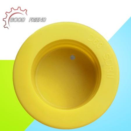 厂家直供 SDR17系列 燃气管塑料内塞 PE燃气管材防尘盖 塑胶管帽