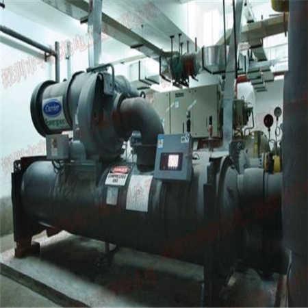 建德市约克中央空调回收-回收冷冻机组