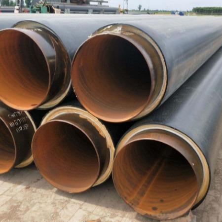聚氨酯地埋保温管厂家施工 聚氨酯保温管规格报价