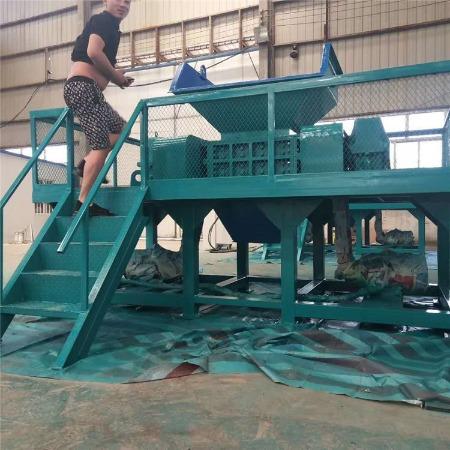 订购塑料膜大棚膜撕碎机 纸厂辫子料粉碎机 打包带撕碎机