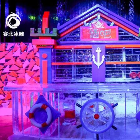 专业的桂林冰雕制作公司 广州冰雕制作 赛北冰雕