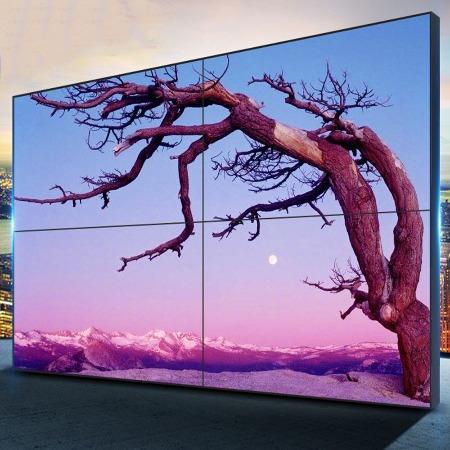 55寸液晶拼接屏 工业级拼接屏  会议室大屏 全国免费上门安装
