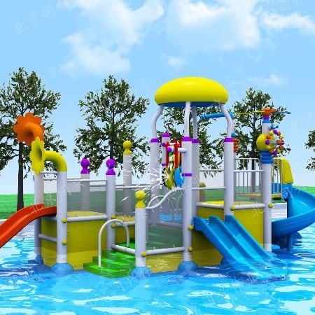 新款儿童水上乐园设备 厂家供应水上滑梯设备