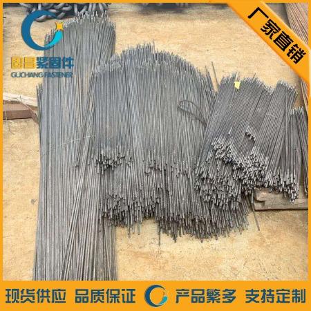 河北邯郸固昌 厂家直销 本色 电镀锌 渗锌 拉条-M12的热镀锌拉条加工-光伏拉条厂家