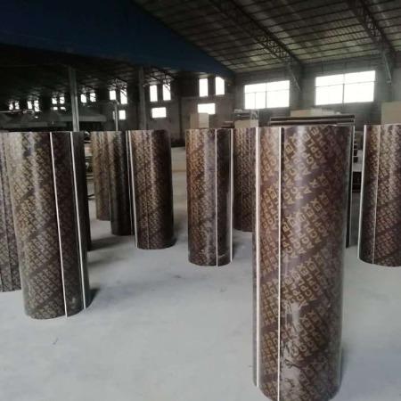 重庆市县绿茵-定型圆模板-圆弧模板-圆柱木模板-加工生产